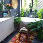 Bright Bohemian Bathroom Design Ideas